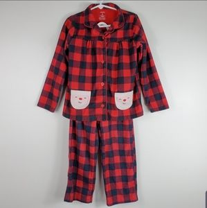 Girl's Carter's Christmas Pajama Set Buffalo Plaid